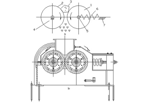 устройство валковой дробилки