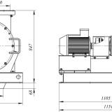 Схема дробилки молотковой МПС-160