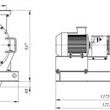 схема дробилки молотковой МПС-200