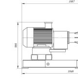 схема дробилки молотковой МПС-600М