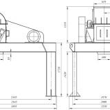 схема дробилки молотковой МПС-630