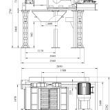 схема дробилки валковозубчатой ДВЗ-2L