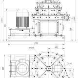 схема мельницы промышленной комбинированной МЦВ-3