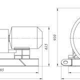 схема мельницы промышленной комбинированной МК-160X700