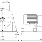 схема мельницы промышленной комбинированной МПС-M