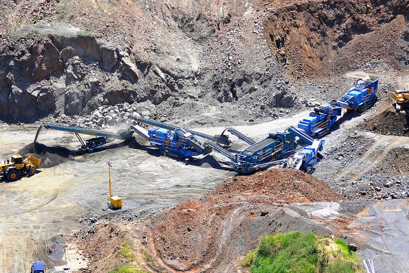 дробильное оборудование в горной промышленности